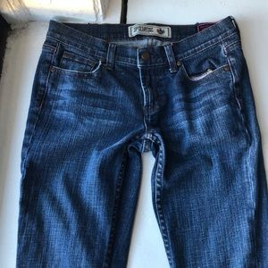 VS Pink Boot dark jeans 4
